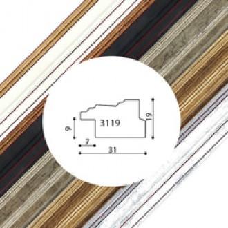 Пластиковый багет серия 3119