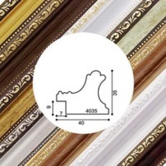 Пластиковый багет серия 4035