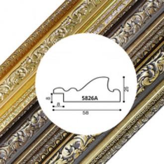 Пластиковый багет серия 5826A