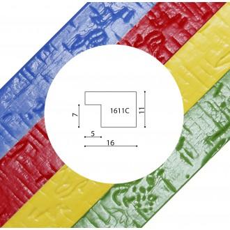 Пластиковый багет серия 1611C