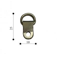 Підвіс кільце 10х25 TS-К027 срібло(1000 шт)