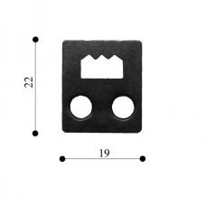 Підвіс молотковий 19х22 TS-K101 (1000 шт)