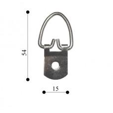 Підвіс кільце на 1 отвір 15х54 TS-K021 (200 шт)