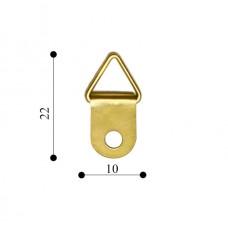 Підвіс кільце10х22 Е216 (1000 шт/уп) TS-K043 золото